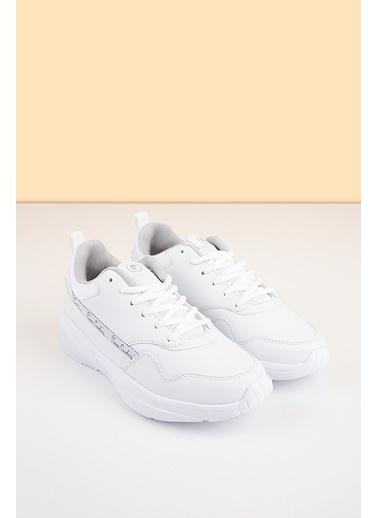 Pierre Cardin Kadın   Ayakkabı 1426 Beyaz